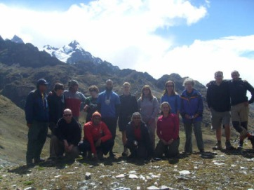 Trek to Peru